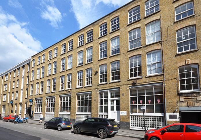 Vestry Street EC1 office space – Building External