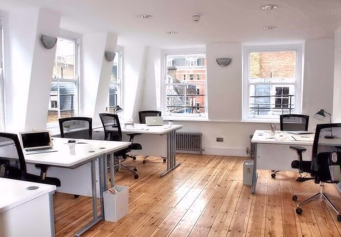 Carnaby Street W1 office space – Private Office (different sizes available)