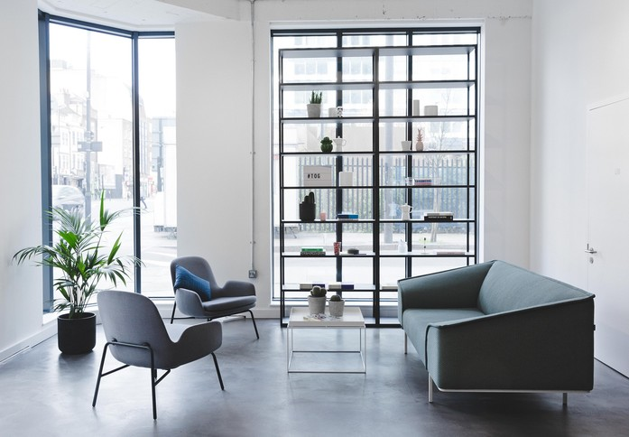 Whitechapel High Street E1 office space – Reception