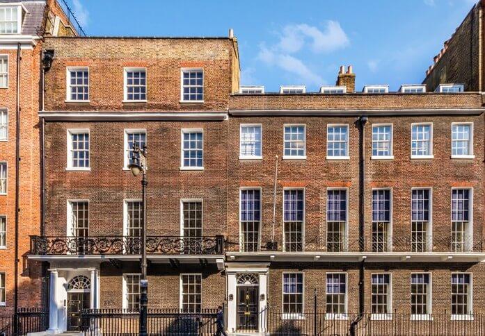 Hill Street W1 office space – Building External