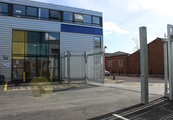 Britannia Way NW10 office space – Building External
