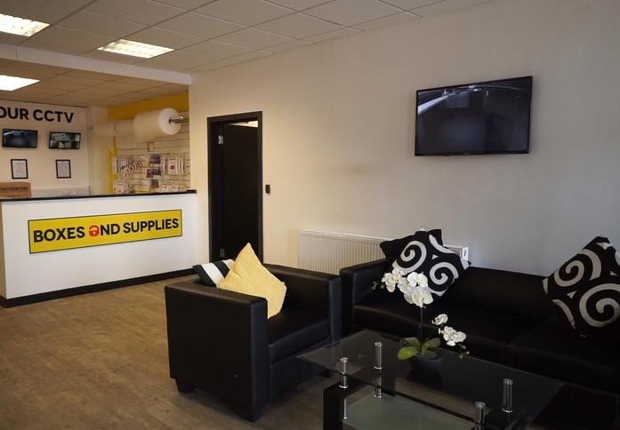 Clark Street PA1 - PA3 office space – Break Out Area