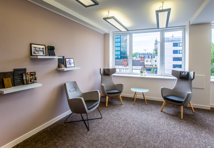 Eversholt Street NW1 office space – Break Out Area
