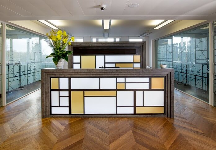 Eversholt Street NW1 office space – Reception