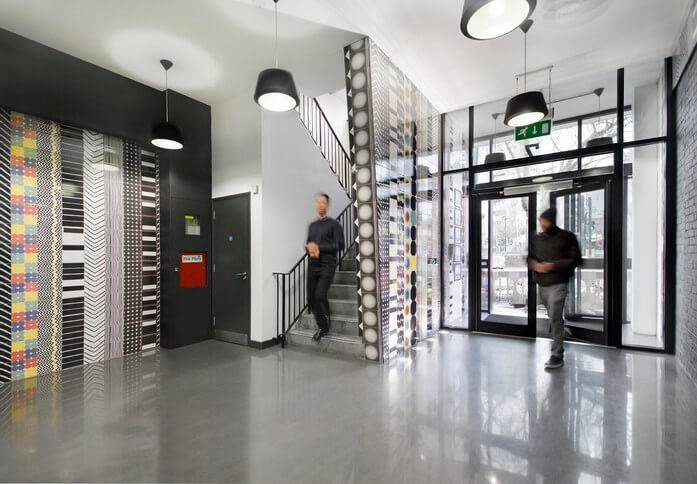 Whitechapel Road E1 office space – Foyer