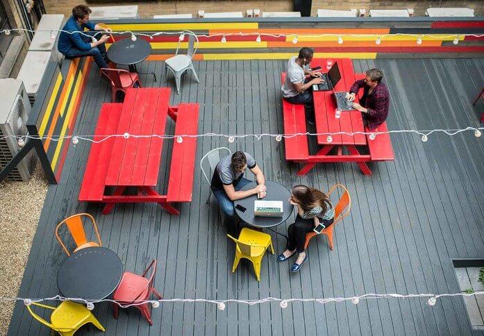 Bonhill Street EC1 office space – Outdoor Area