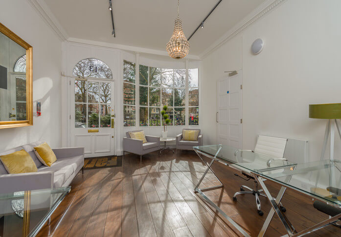 Soho Square W1 office space – Reception