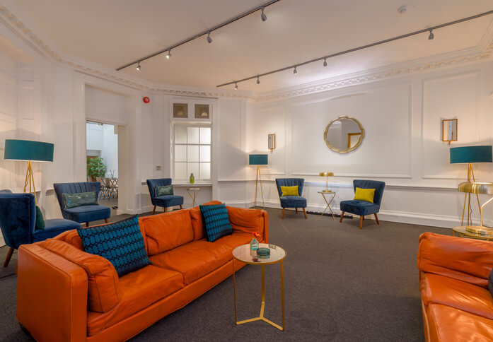 Soho Square W1 office space – Break Out Area