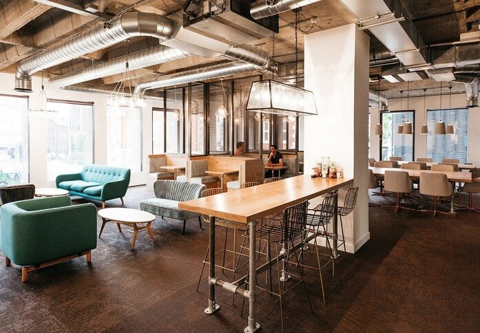 Duke's Place E1 office space – Break Out Area