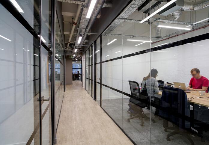 Jerusalem Passage EC1 office space – Hallway