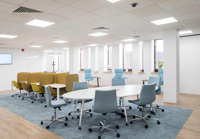 Lewisham High Street SE13 office space – Break Out Area