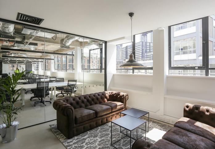 Luke Street EC1 office space – Break Out Area