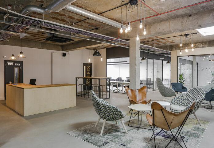 Luke Street EC1 office space – Reception