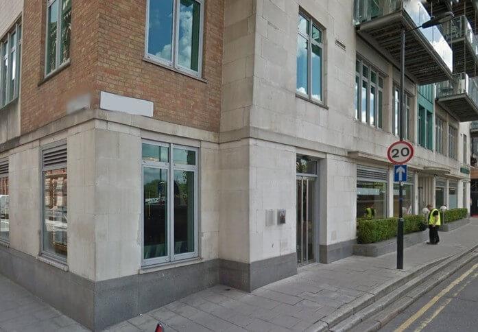 Albert Embankment SE1 office space – Building External