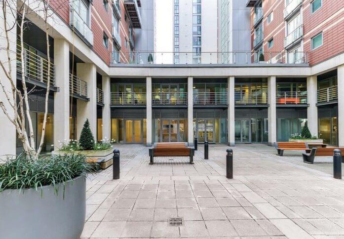 Albert Embankment SE1 office space – Courtyard