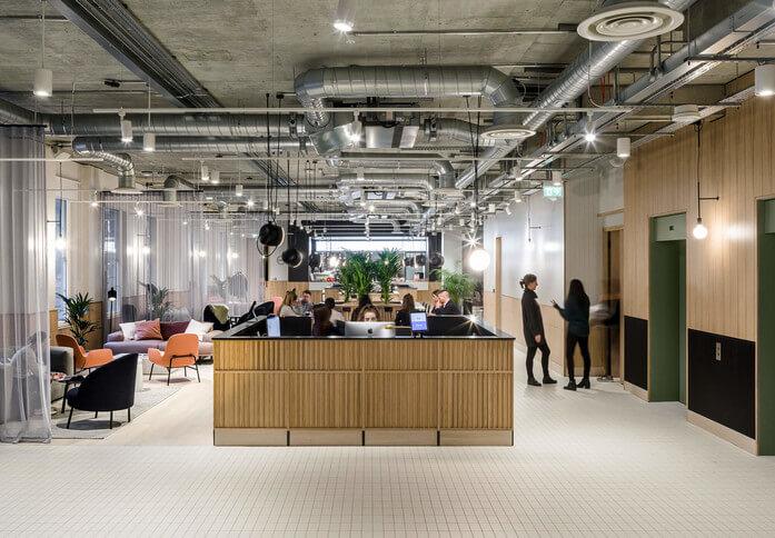 Eccleston Square SW1 office space – Reception
