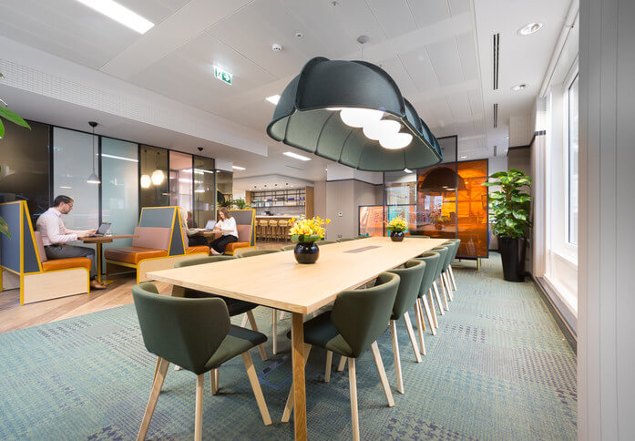 New Cavendish Street NW1 office space – Break Out Area