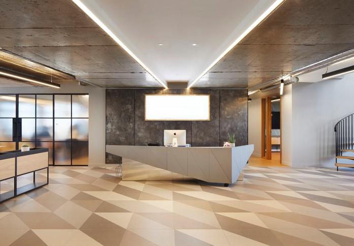 Suffolk Street Queensway B1 office space – Reception