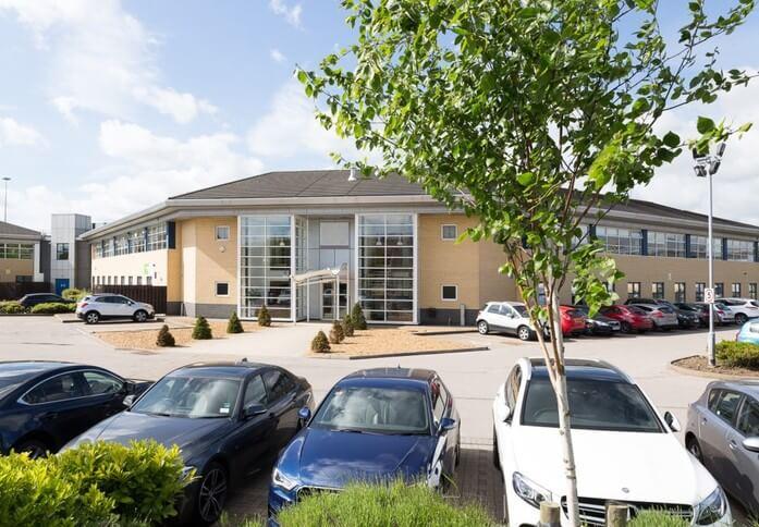 Delta Bank Road NE8 office space – Building External
