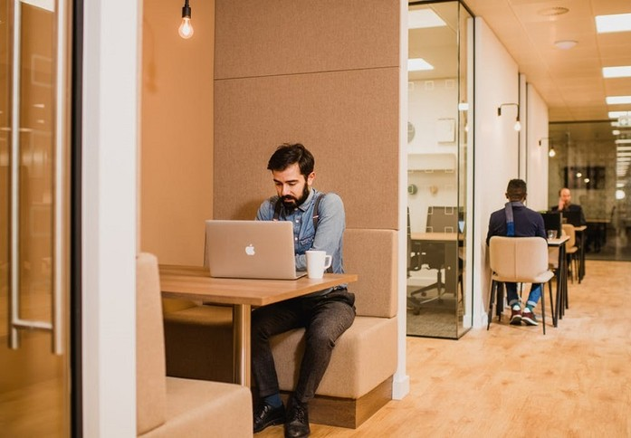 Eccleston Place SW1 office space – Break Out Area