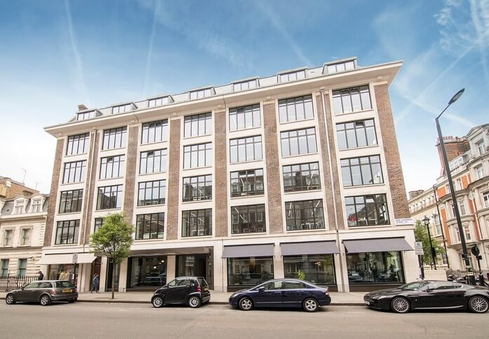 New Cavendish Street W1 office space – Building External