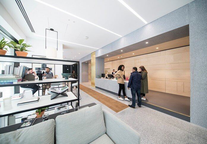 New Cavendish Street W1 office space – Reception