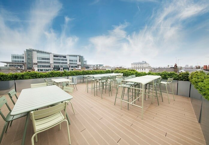 New Cavendish Street W1 office space – Outdoor Area