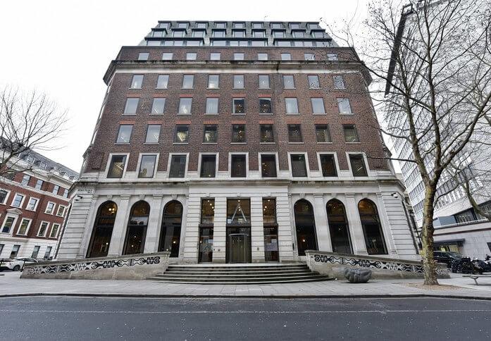 Bloomsbury Way WC1 office space – Building External