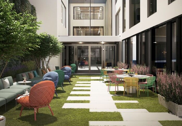 Folgate Street EC1 office space – Outdoor Area