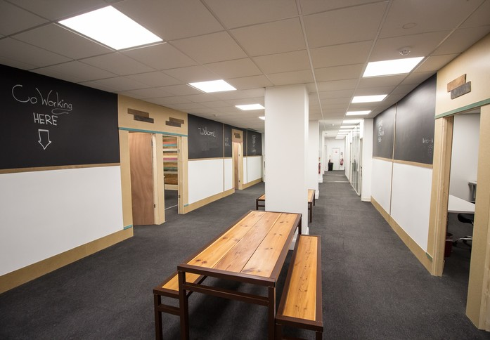 Notting Hill Gate W10 office space – Break Out Area