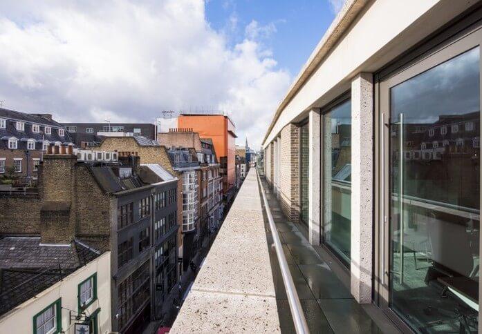 Broadwick Street W1 office space – Outdoor Area