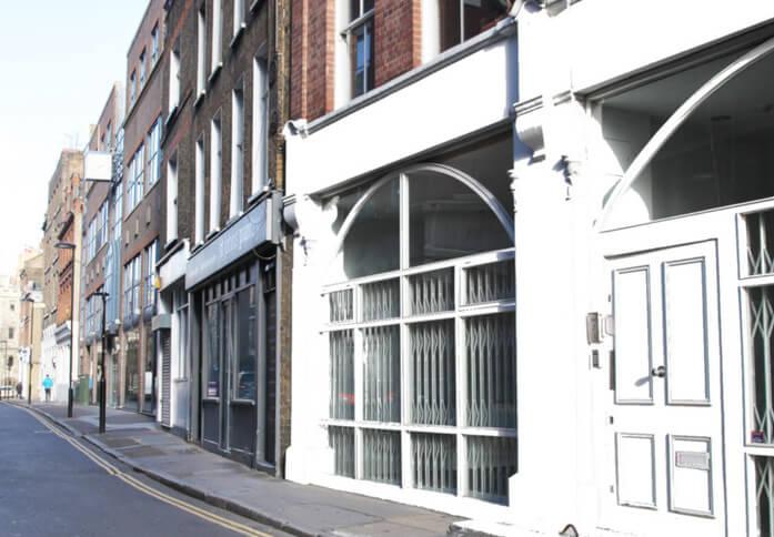 St John's Lane EC1 office space – Building External