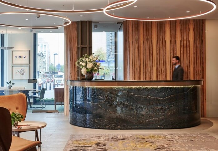 Queen Victoria Street EC4 office space – Reception