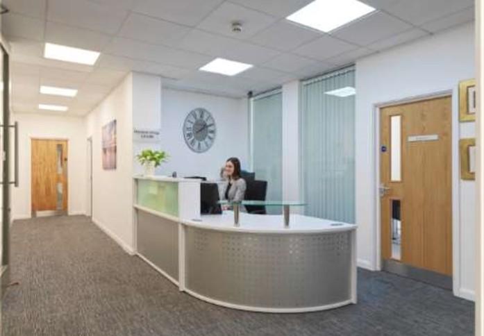 Minories E1 office space – Reception