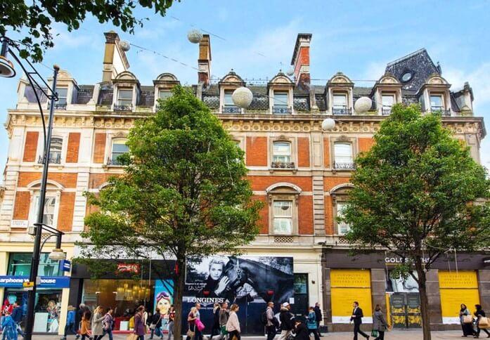 Oxford Street W1D office space – Building External