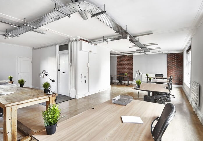 Eastcastle Street W1 office space – Private Office (different sizes available)