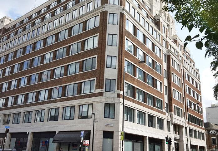 Eversholt Street NW1 office space – Building External