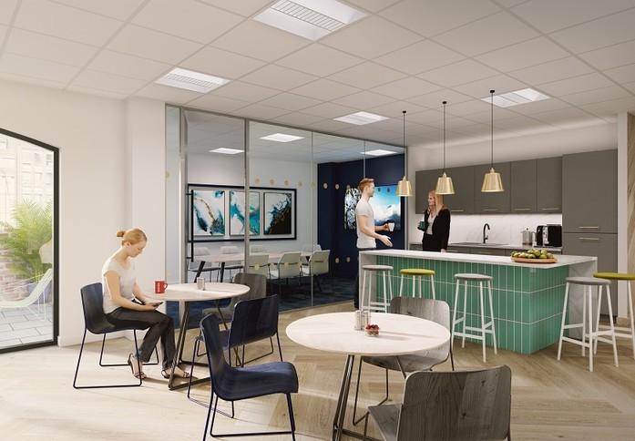 Mandeville Place W1K office space – Kitchen