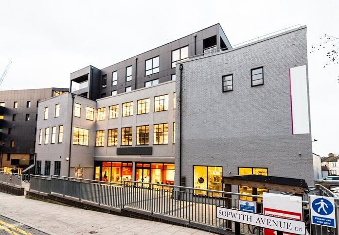 Blackhorse Lane E17 office space – Building External