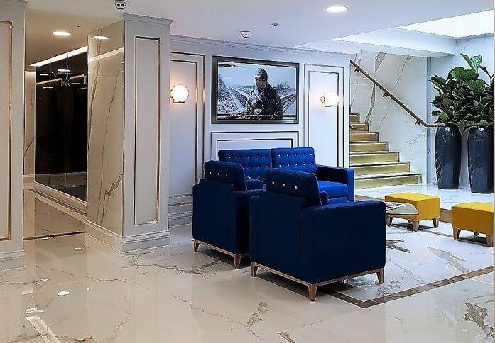 Allen Street W8 office space – Reception