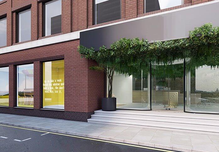 Tudor Street EC4 office space – Building External