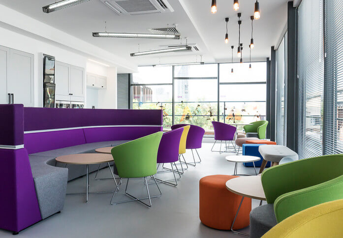 Great Dover Street SE1 office space – Break Out Area