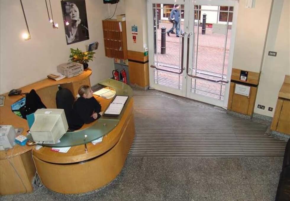 Bear Street WC1 office space – Reception