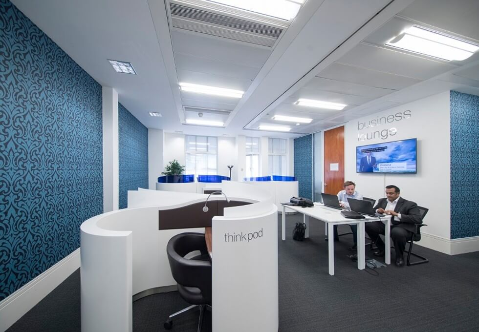 St Martin's Le Grand EC1 office space – Break Out Area