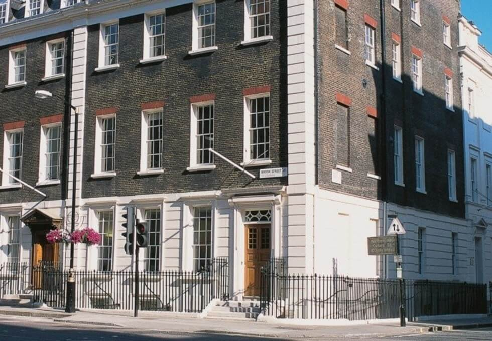 Davies Street W1 office space – Building External