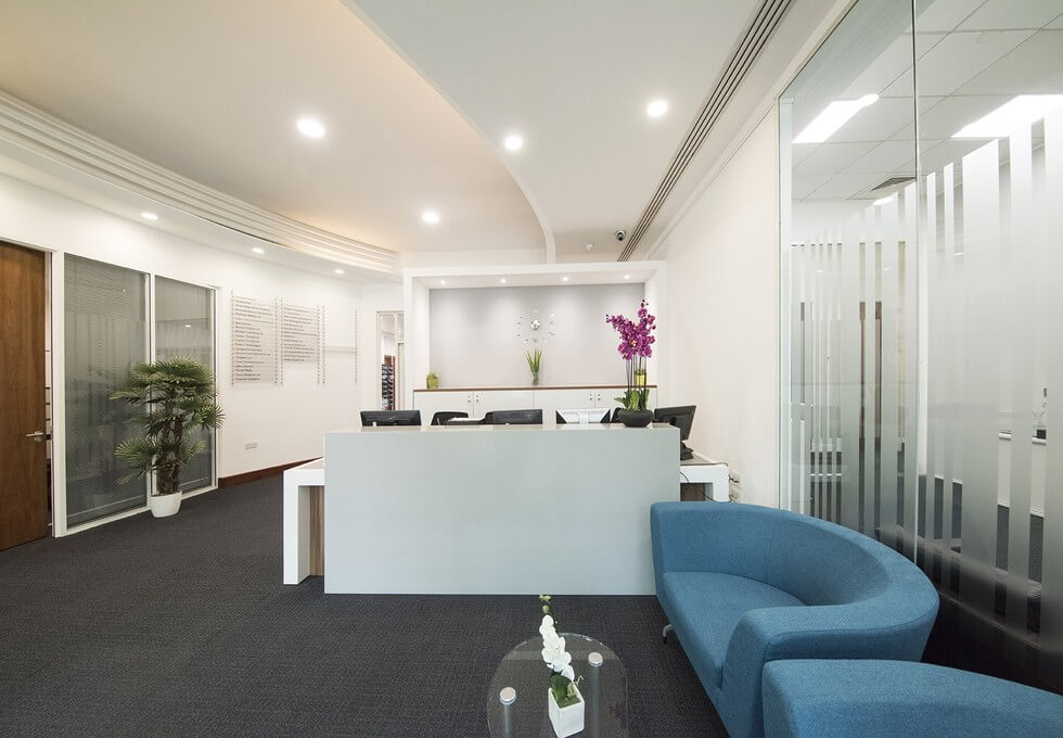 Clarendon Road WD1 office space – Reception