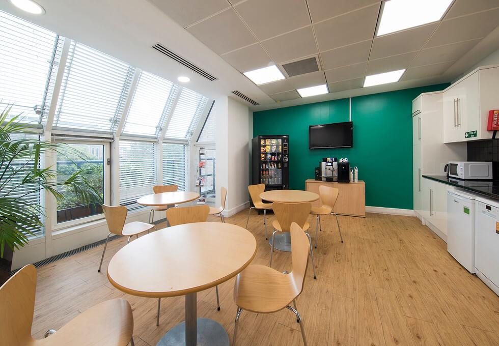 Queen Caroline Street W6 office space – Break Out Area