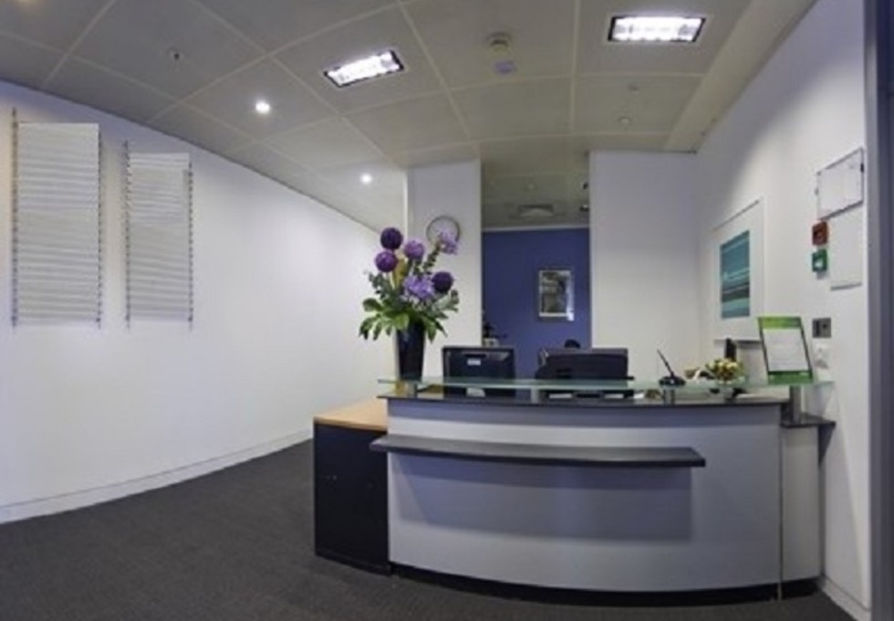 Wood Street EC1 office space – Reception