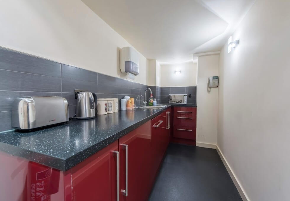 Westminster Bridge Road SE1 office space – Kitchen