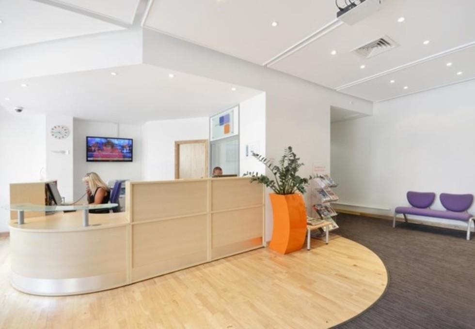 Shelton Street WC2 office space – Reception